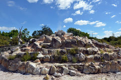Πάρκο Kuirau σε Rotorua - τη Νέα Ζηλανδία Στοκ Εικόνα