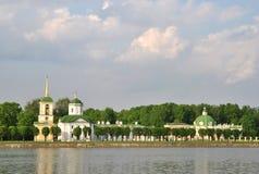 Πάρκο Kuskovo, Μόσχα, φέουδο XVIII Sheremetev ` s αιώνας Στοκ Εικόνες