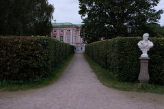 Πάρκο Kuskovo στοκ φωτογραφία με δικαίωμα ελεύθερης χρήσης