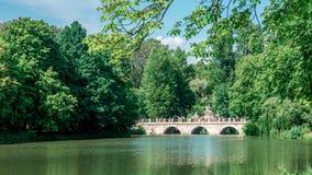 Πάρκο Lazienki στη Βαρσοβία, Πολωνία Στοκ εικόνα με δικαίωμα ελεύθερης χρήσης
