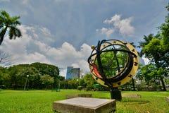 Πάρκο Lumphini Μπανγκόκ Ταϊλάνδη στοκ φωτογραφίες