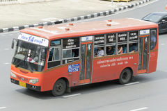 14 πάρκο Lumpini στο αυτοκίνητο οδικών λεωφορείων Si Yan Στοκ Εικόνες