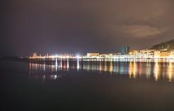 Πάρκο Marjan στη διάσπαση, Κροατία τη νύχτα στοκ εικόνα με δικαίωμα ελεύθερης χρήσης