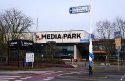Πάρκο MEDIA στο Χίλβερσουμ, οι Κάτω Χώρες στοκ εικόνες