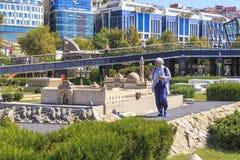 Πάρκο Miniaturk, Ιστανμπούλ στοκ εικόνες