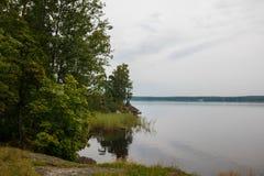 Πάρκο Monrepo φθινοπώρου σε Vyborg, περιοχή του Λένινγκραντ, της Ρωσίας στοκ φωτογραφίες με δικαίωμα ελεύθερης χρήσης