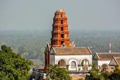 Πάρκο Phra Nakhon Khiri παλατιών Στοκ εικόνα με δικαίωμα ελεύθερης χρήσης