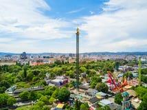 Πάρκο Prater στη Βιέννη Στοκ Φωτογραφίες