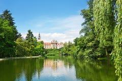 Πάρκο Pruhonice Στοκ φωτογραφία με δικαίωμα ελεύθερης χρήσης