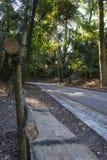 Πάρκο Repos Mon, πόλη της Κέρκυρας, Ελλάδα στοκ εικόνα