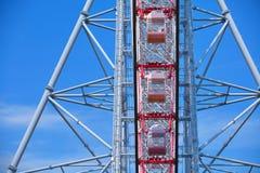 Πάρκο Rinkai Kasai, ρόδα Ferris, το διαμάντι και το Φ Στοκ Φωτογραφία