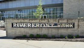 Πάρκο Riverfront, Νάσβιλ, Τένεσι στοκ φωτογραφίες με δικαίωμα ελεύθερης χρήσης