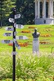 Πάρκο Romanescu Nicolae σε Craiova, Ρουμανία στοκ φωτογραφίες