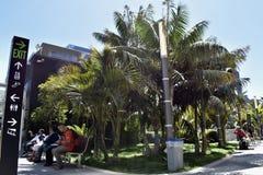 Πάρκο Salesforce πάνω από το νέο κέντρο διέλευσης Transbay, 1 στοκ εικόνες με δικαίωμα ελεύθερης χρήσης