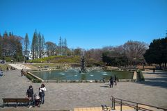 Πάρκο Setagaya, στο Τόκιο, Ιαπωνία στοκ φωτογραφία με δικαίωμα ελεύθερης χρήσης