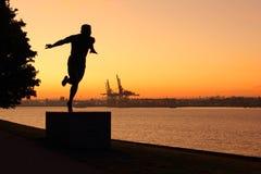 πάρκο Stanley Βανκούβερ αυγής Στοκ φωτογραφία με δικαίωμα ελεύθερης χρήσης