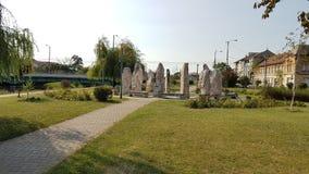 Πάρκο Stonehenge - καλό στοκ εικόνες