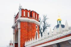 Πάρκο Tsaritsyno στη Μόσχα Στοκ φωτογραφία με δικαίωμα ελεύθερης χρήσης