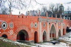 Πάρκο Tsaritsyno στη Μόσχα Στοκ Εικόνες