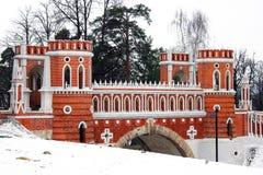 Πάρκο Tsaritsyno στη Μόσχα Στοκ φωτογραφίες με δικαίωμα ελεύθερης χρήσης