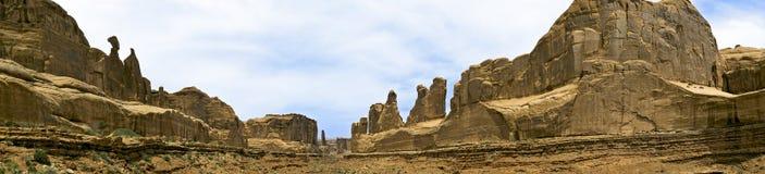 πάρκο Utah πανοράματος του NP &lambda Στοκ Εικόνες