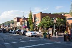 πάρκο Utah πόλεων Στοκ εικόνα με δικαίωμα ελεύθερης χρήσης