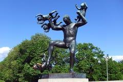 Πάρκο Vigelands Στοκ εικόνα με δικαίωμα ελεύθερης χρήσης
