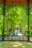πάρκο zrinjevac στο Ζάγκρεμπ στοκ εικόνες