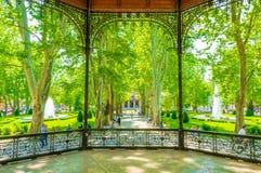 πάρκο zrinjevac στο Ζάγκρεμπ στοκ φωτογραφίες