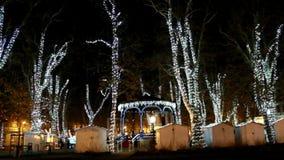 Πάρκο Zrinjevac στο χρόνο εμφάνισης στο Ζάγκρεμπ φιλμ μικρού μήκους