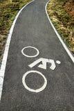 Πάροδος ποδηλάτων, πάροδος ποδηλάτων σε Chiang Rai, Ταϊλάνδη Στοκ φωτογραφίες με δικαίωμα ελεύθερης χρήσης