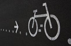 πάροδος ποδηλάτων Στοκ Φωτογραφία