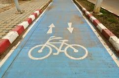 πάροδος ποδηλάτων Στοκ Εικόνες