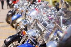 Πάροδος μοτοσικλετών συνήθειας Στοκ Εικόνες