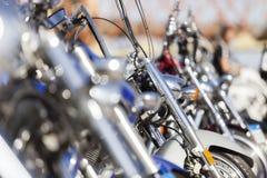 Πάροδος μοτοσικλετών συνήθειας Στοκ φωτογραφία με δικαίωμα ελεύθερης χρήσης