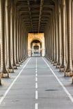 Πάροδος ποδηλάτων προοπτικής του Παρισιού Στοκ Φωτογραφία
