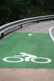 Πάροδος ποδηλάτων στο φράγμα Στοκ φωτογραφίες με δικαίωμα ελεύθερης χρήσης