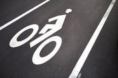 Πάροδος ποδηλάτων Χάρβαρντ Καίμπριτζ Στοκ Εικόνα