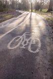 Πάροδος ποδηλάτων Στοκ φωτογραφία με δικαίωμα ελεύθερης χρήσης
