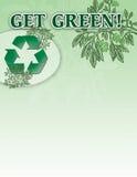 πάρτε πράσινος Στοκ Εικόνες