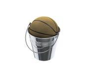 Πάρτε την έκφραση καλαθοσφαίρισης κάδων Στοκ φωτογραφία με δικαίωμα ελεύθερης χρήσης
