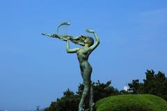 Πάρτε τη γυναίκα πιάνων Στοκ Εικόνες