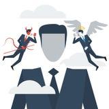 Πάρτε τις συμβουλές, ηθική σκέψη διανυσματική απεικόνιση