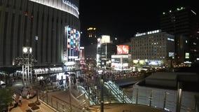 Πάρτε το βίντεο στο σταθμό της Οζάκα, umeda απόθεμα βίντεο