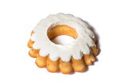 Πάσχας κέικ που απομονώνεται γλυκό στο λευκό Στοκ φωτογραφία με δικαίωμα ελεύθερης χρήσης