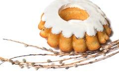 Πάσχας κέικ που απομονώνεται γλυκό Στοκ φωτογραφία με δικαίωμα ελεύθερης χρήσης