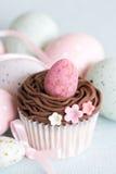 Πάσχα cupcake Στοκ φωτογραφίες με δικαίωμα ελεύθερης χρήσης