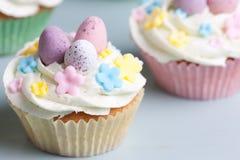Πάσχα cupcakes Στοκ Φωτογραφίες