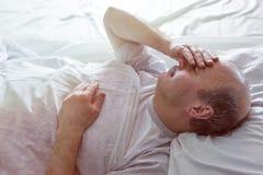 Πάσχτε από την αϋπνία στοκ φωτογραφίες