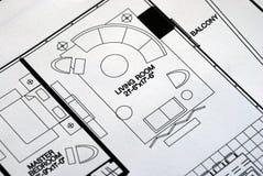πάτωμα δωμάτιο σχεδίων δια Στοκ εικόνες με δικαίωμα ελεύθερης χρήσης